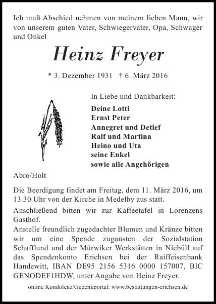 Flensburger Tageblatt Traueranzeigen