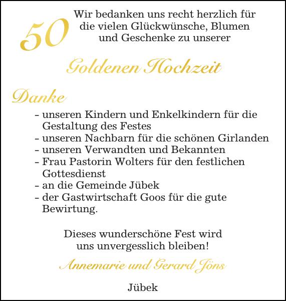 Annemarie Und Gerard Jöns Goldene Hochzeit Flensburger