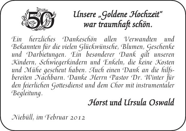 U Goldene Hochzeit Flensburger Tageblatt