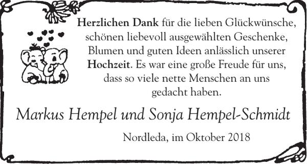 Markus Hempel Und Sonja Hempel Schmidt Danke Cuxhavener