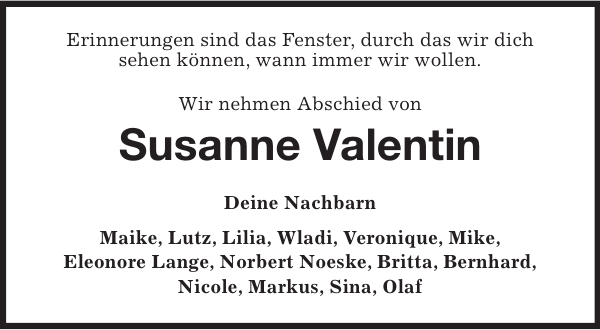 Susanne valentin