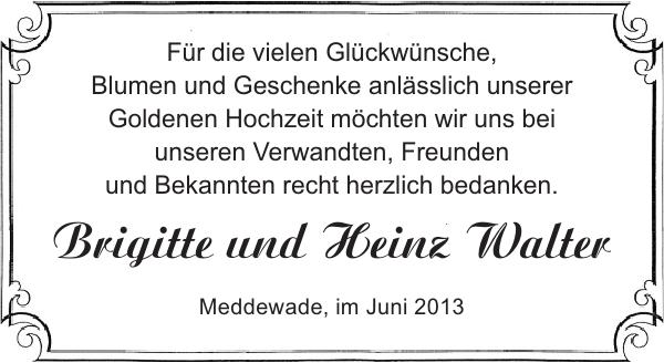 Brigitte Und Heinz Walter Goldene Hochzeit Stormarner Tageblatt