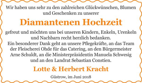 Lotte Herbert Kracht Ich Denke An Dich Gustrower Anzeiger