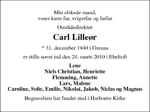 07b74ed6a42 Grenå Bladet - Mindeord, dødsfald, bryllupper og fødsler