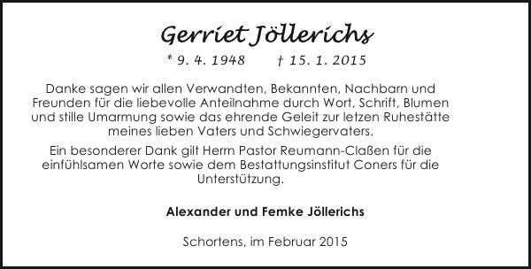 Alexander Und Femke Jöllerichs Danke Sagen Wir Allen