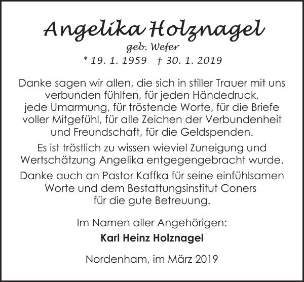 Karl Heinz Holznagel Nordenhamimmärz 2019 Danke Sagen Wir