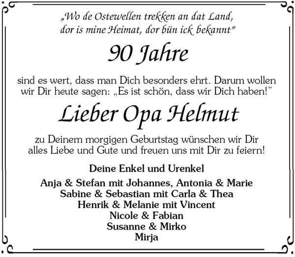 Geburtstag 90 jahre